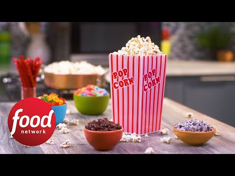 Theater-Style Buttered Popcorn | Food Network