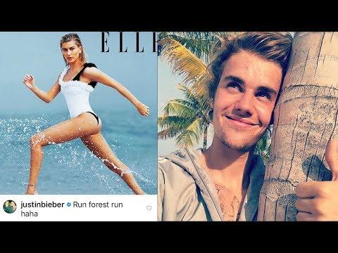 Justin Bieber Caught CREEPING Into Hailey Baldwin's Instagram!