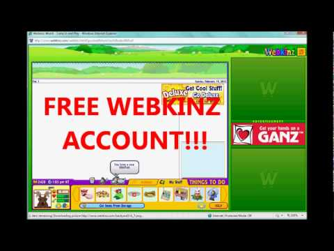 FREE WEBKINZ ACCOUNT WHILE IT LASTS! OPEN 2012!