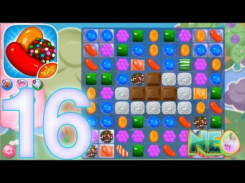 Candy Crush Saga: Gameplay Walkthrough Part 16 - LEVEL 56 - 58 COMPLETED (iOS, Android)