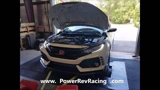 P2R 2017 Honda Civic Type R Baseline Dyno