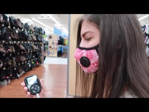 Blood Sugar Check in Walmart 💉 (4/15/17)