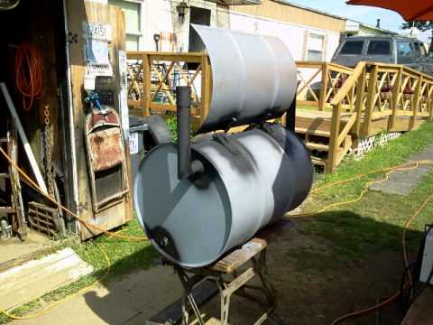Smoker/BBQ 55 Gallon Drum