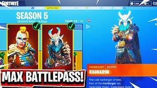 Fortnite Season 5 Max Battle Pass Skin Videos 9tube Tv