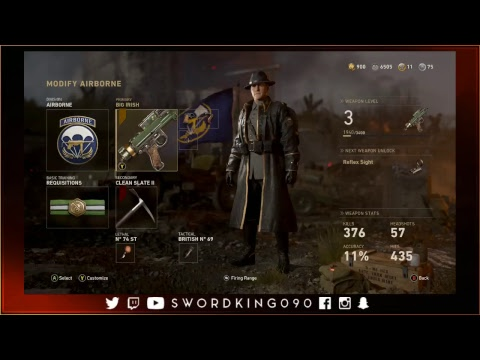 Xbox One X - Call of Duty: WWII - Multiplayer - Road to Level 1000. (Episode 4)