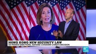 World leaders condemn China's Hong Kong security law, US passes sanctions