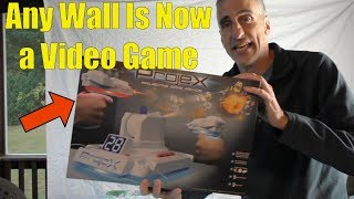 PROJEX REVIEW - Turn Any Wall Into A Video Game with this Projecting Game Arcade