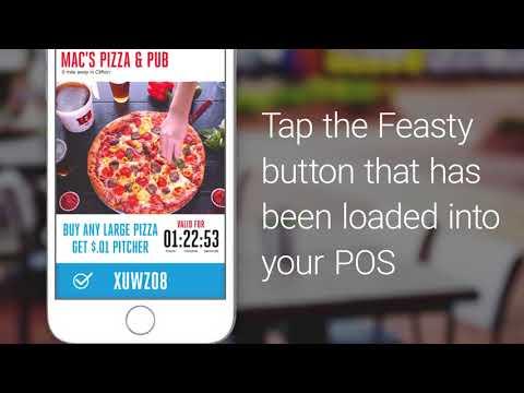 Feasty Eats - How users redeem a deal | LaRosa's Pizzeria