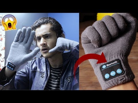 THESE 500 RUPEES GLOVES CAN MAKE CALLS & PLAY MUSIC! Cool Gadgets New Tech Unboxing