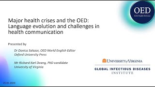 Major health crises and the OED: language evolution and challenges in health communication