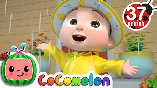 Yes Yes Dress For The Rain  + More Nursery Rhymes \u0026 Kids Songs - CoComelon