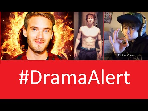 LeafyIsHere - PewDiePie Fires Back #DramaAlert OpTic Scump Injured! - Sky Williams