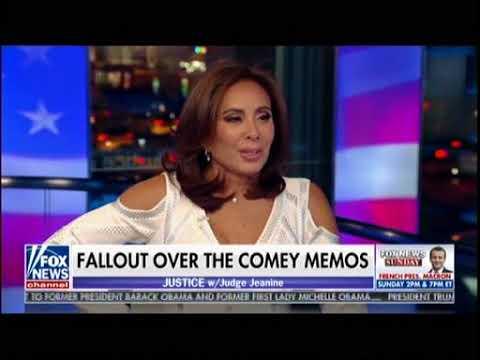 Judge Jeanine Pirro - Fallout Over Comey Memos