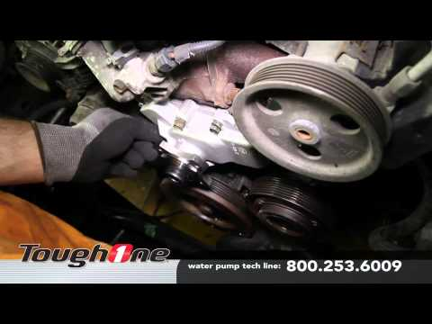 How to Install a Water Pump for a Jeep 4L 6cy Engine - Advance Auto Parts