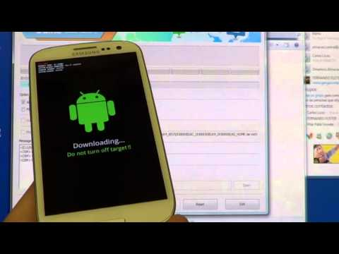 Galaxy S3 tutorial install Jelly Bean final official 4.1.2 + root