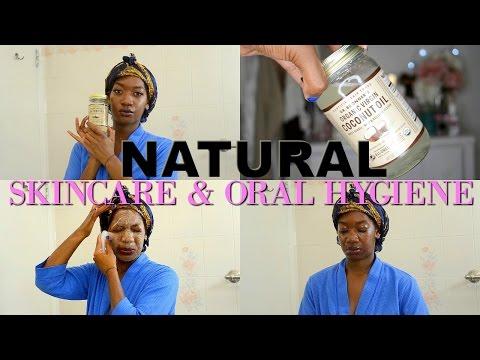Coconut Oil   Natural Skincare Routine + Oral Hygiene   Fade Dark Marks   Remove Makeup & Lashes