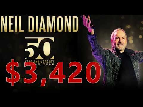 How I Made $3,420 Selling Neil Diamond Tickets