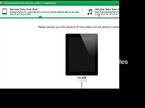 iPad Air Data Recovery-Recover Deleted Photos, Notes, Contacts, Videos, Text Messages on iPad Air