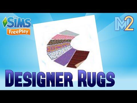 Sims FreePlay - Designer Rugs Event (Tutorial & Walkthrough)