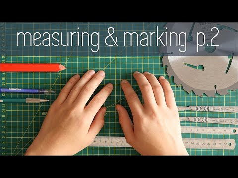 Architecture Modelmaking 101 - Measuring & Marking Part 2 - Precision