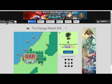 how to catch legendary pokemon fast in delugerpg