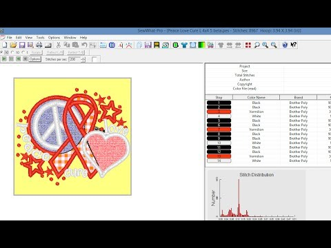Use SewWhat-Pro/SWP to Add Fabric Visualization to Embroidery Designs