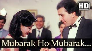 Mubarak Ho Mubarak Ho - Smita Patil - Rajesh Khanna - Raj Babbar - Angaaray - Hindi Sagaai Song