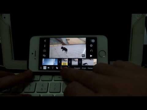 iMovie iOS control de tiempo SlowMotion