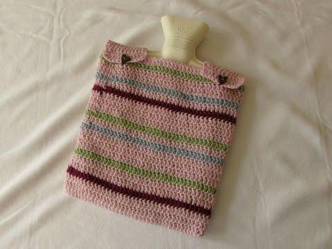 Hot Water Bottle Cover Crochet Pattern Hot Water Bottle Cover