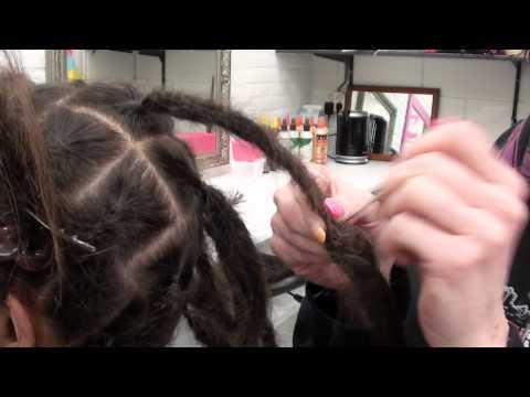 Dreadextensions - Tutorial - How to make your own dreads longer - Dreadlockshop