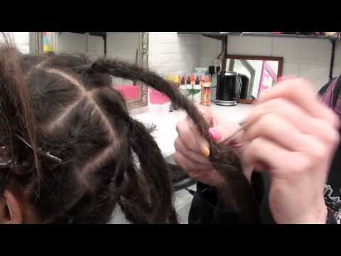 Dreadextensions - Tutorial - How to make your own dreads longer - Dreadlockshop