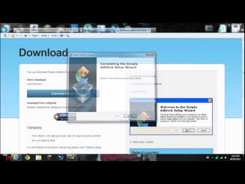 How to get AdBlock for Internet Explorer (PC)