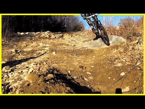 Drummer hill berm roosts - Mountain Biking Keene NH - Phil Kmetz