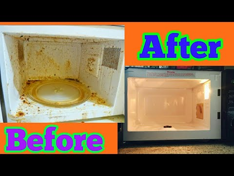 DIY How to easily Clean Microwave | Indian Busy Mom/Housewife Microwave Cleaning Routine
