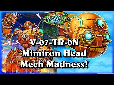 Voltron Mimirons Head Mech Rogue Deck ~Hearthstone The League of Explorers