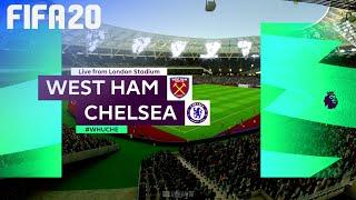 FIFA 20 - West Ham United vs. Chelsea @ London Stadium