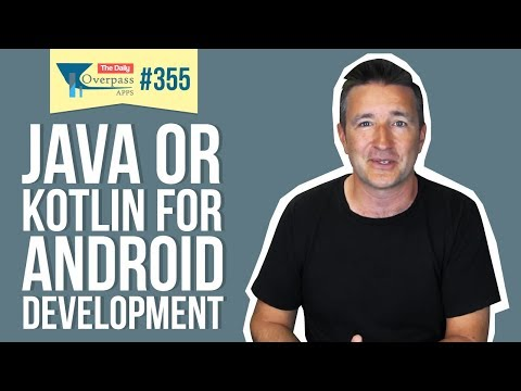 Java or Kotlin for Android Development