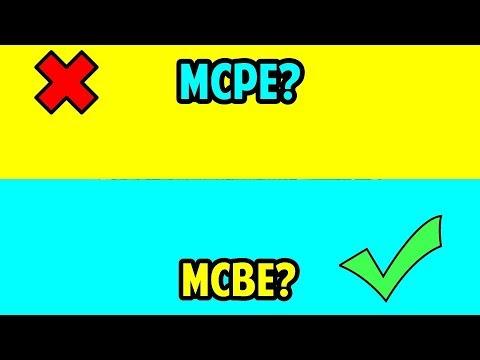 APA PERBEDAAN MCPE DAN MCBE?? - ASK ABOUT MINECRAFT