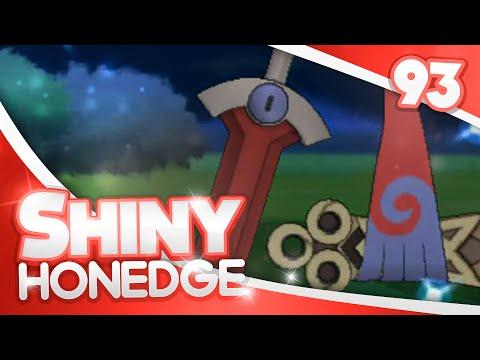 Pokemon [XY] Shiny Hunting - #93 - 1776 Random Encounters SHINY HONEDGE!