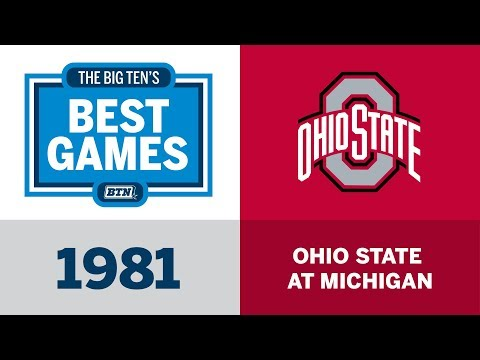 The Big Ten's Best Games: 1981 Ohio State at Michigan