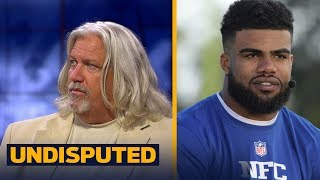 Rob Ryan on how Cowboys will do without Ezekiel, if Patriots are unstoppable in 2017 | UNDISPUTED