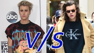Justin Bieber VS Harry Styles – Who Is Better ?