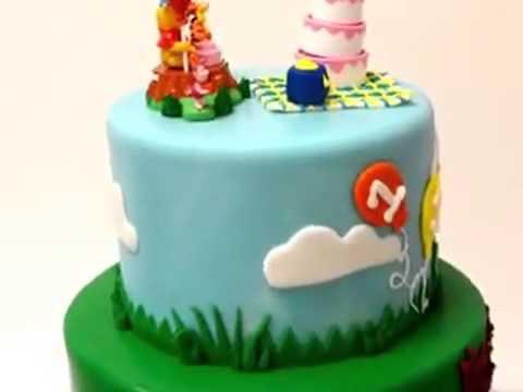How to make cake Winnie the pooh cake    Cartoon cake
