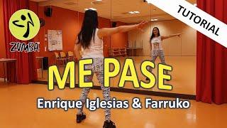 Me Pase Tutorial   Enrique Iglesias feat Farruko   Dance Passion Zumba