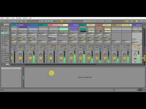 My first track Goa trance in ableton live 9