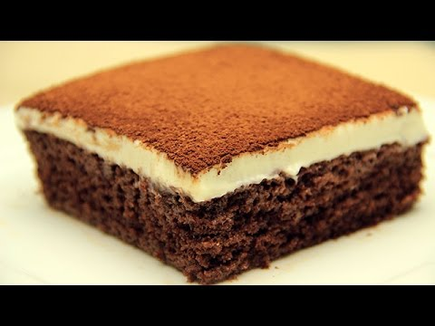 Cocoa Fudge Cake Recipe - Milk Soaked Wet Cake