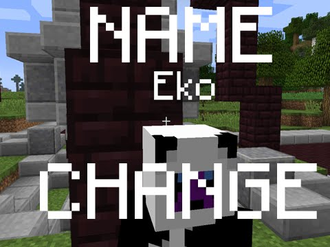 How to change your name in Minecraft 1.8/1.8.1! (February 2015)