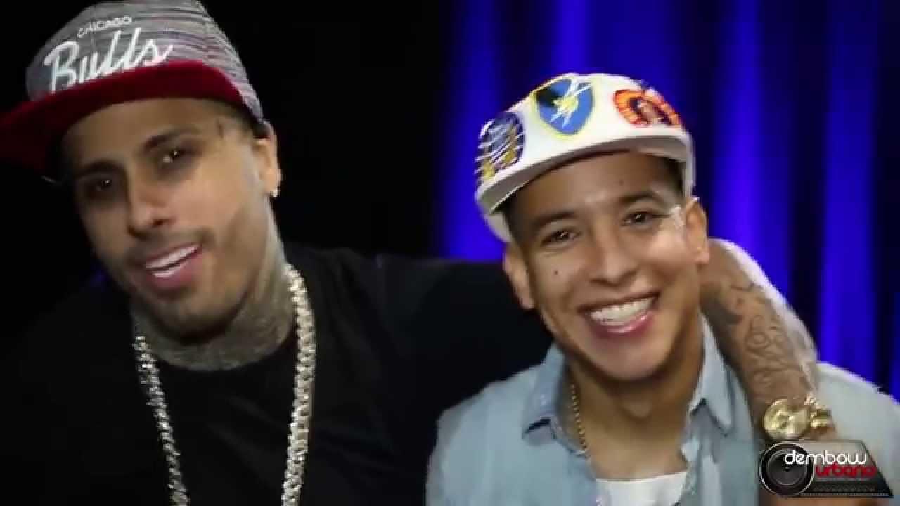 """Daddy Yankee y Nicky Jam en una divertida entrevista """"Los Cangris"""" (2015)"""