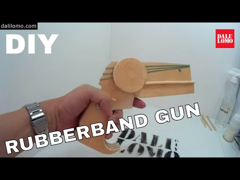 How to Make Batman Rubber Band Gun   DIY Costume Prop #1805