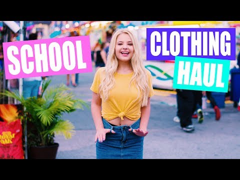 TRY ON Back to School Clothing Haul 2017!